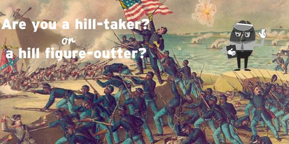 hill taking