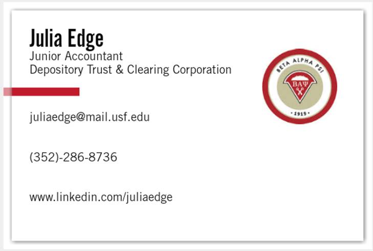 Try something unique accounting student business cards example image002 colourmoves