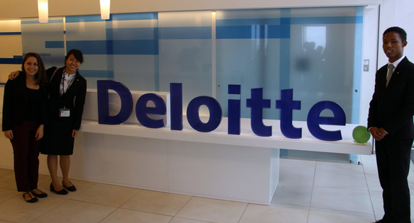 In 5 minutes, I found this Deloitte accounting recruiters email