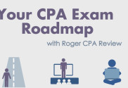your cpa exam roadmap infographic